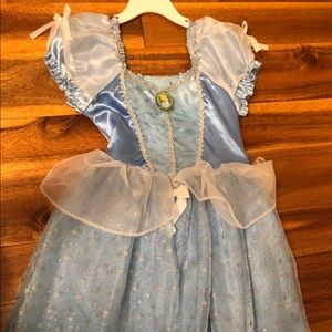 Other - Girls Cinderella Dress/costume Size 4-6x
